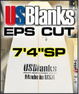 "USB EPS BLOCK CUT 7' 4"" SP"