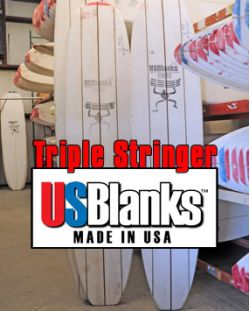 US Blanks 9 5 M Triple Stringer