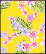 Hawaiian Surfboard Fabric Inlay - Yellow BB