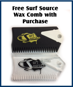 Free Surf Source Wax Comb with purchase