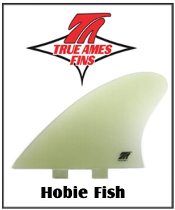 True Ames Hobie Fish Twin Set FCS Base