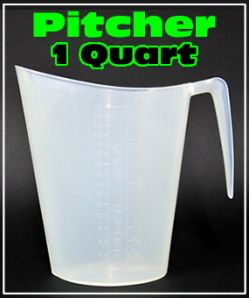 Mixing Pitcher  1 Quart
