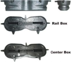 Standard Fin Boxes - Rail or Center
